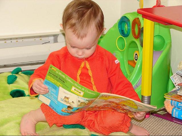 Как ребенка научить читать книги