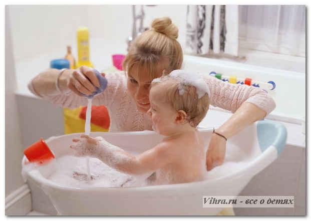 как часто купать ребенка