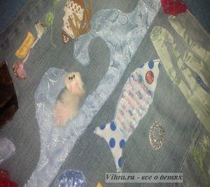 развивающий коврик дома