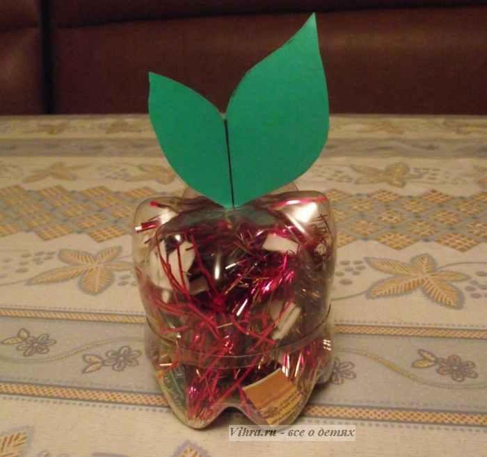 поделка яблоко, поделка для детей
