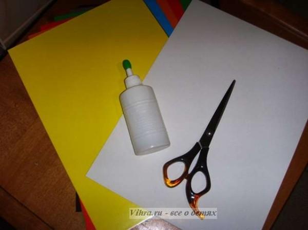 поделки для детей, открытка