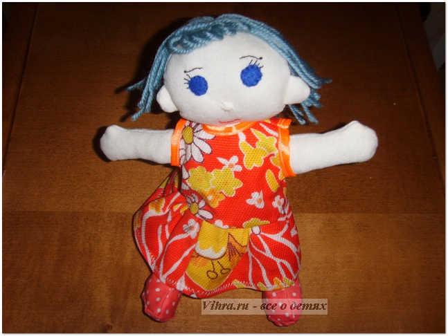 поделка, тряпичная кукла