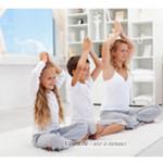 йога, занятия с ребенком йогой